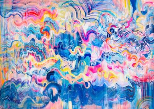 Emma Hill: Rainbow Tsunami