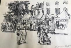 Griselda Cann Mussett: Faversham Market (2019)