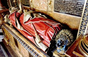 Tomb of Frances Sydney, Countess of Sussex in Westminster Abbey
