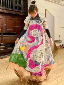 Nicola Flower: Shrimpers and Mudlarks costume