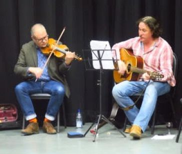 The Plant: Creating Theatre for Society: Musicians Martin Kember and Jeremy Scott