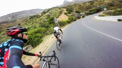 The climb up to Chappies.