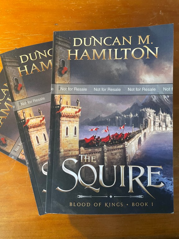 Win a Signed Proof Copy of The Squire!