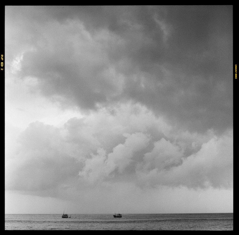 Sri Lanka, Boats, Storm, Hasselblad, film, black and white, Travel, travel photography, Duncanm, Duncan Macfarlane Photography