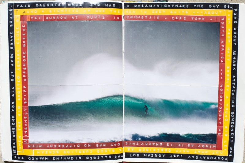 Duncan, Duncan Macfarlane, Duncan Macfarlane Photography, waves, Ocean, art, fine art, prints, South Africa, surfing photography, Surf, Surf Photography, Surfing, Journals, Journalling, Taj Burrow