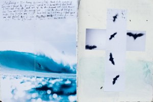 Duncan, Duncan Macfarlane, Bats, Cross, Mick Fanning, Kirra, Cyclone Oma, Duncan Macfarlane Photography, Surf, Surf Photography, waves, Ocean, art, fine art, prints, surfing photography, Griffin Colapinto, Mick Fanning, Morocco, Surfing, Journals, Collage, Journalling