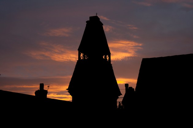 Rooftops at dawn - Forest Fields, Nottingham