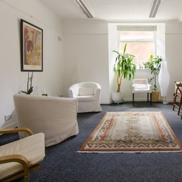 counselling and psychotherapy room