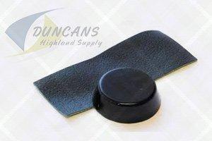 black cobbler's wax