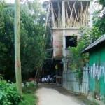 সোনারগাঁয়ে সরকারি রাস্তা  দখল করে ভবন নির্মাণ