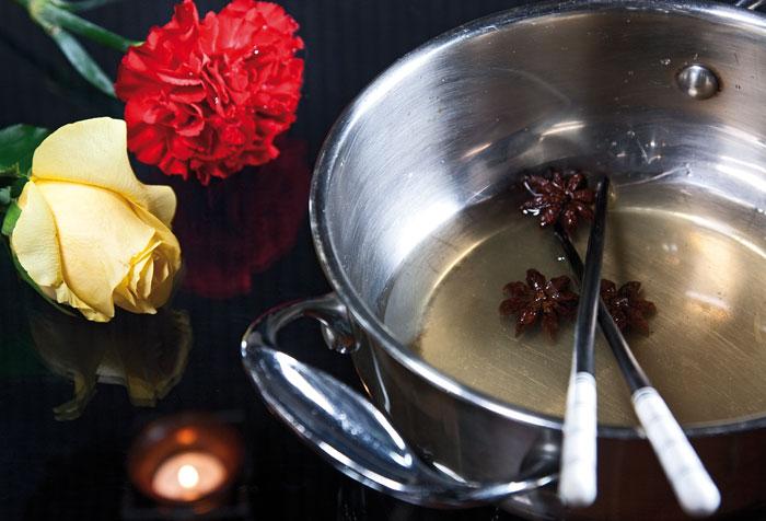 остывание сиропа для салата