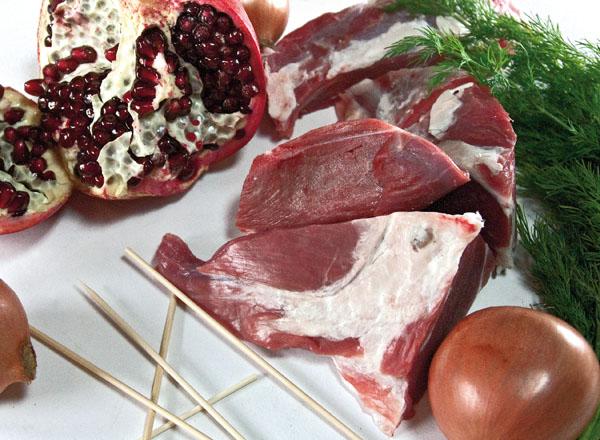 мясо для люля-кебаба в духовке