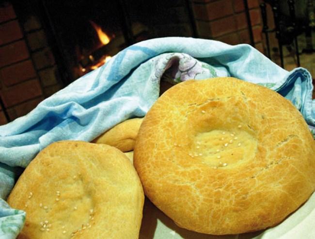 Эксперимент с лепешкой от www.dunduk-culinar.ru