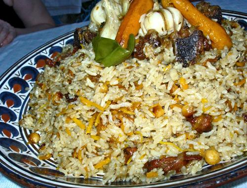 ферганский плов из риса аланга
