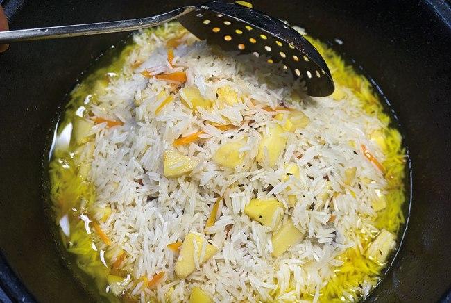 подготовка риса к упреванию