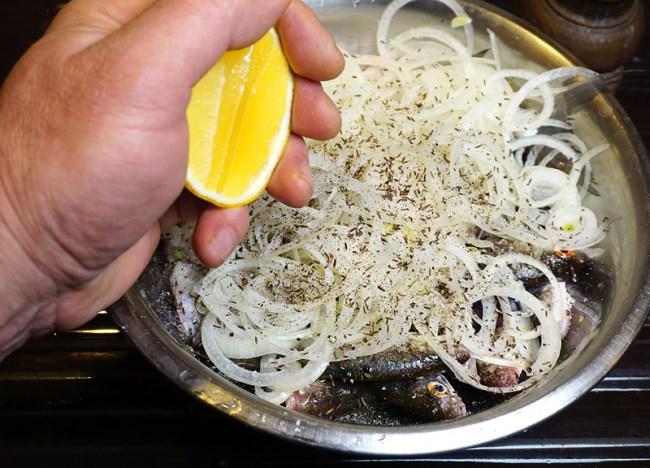 подготовка маринада для рыбы