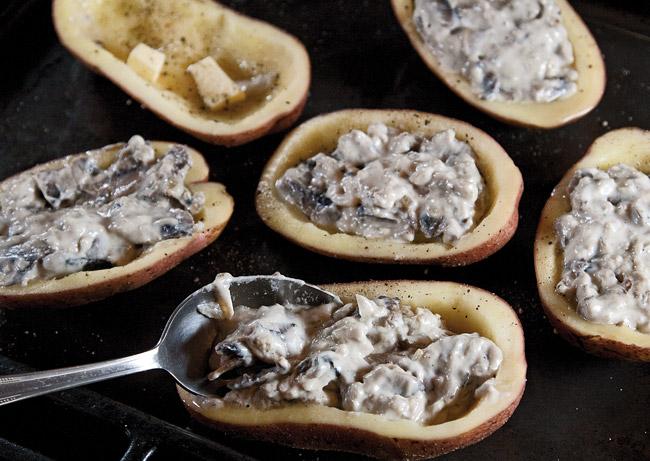 распределение жюльена по картофельным кокотницам