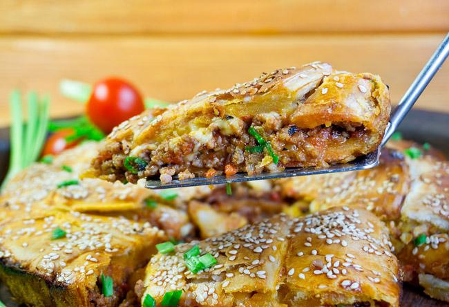греческий пирог креатопита ог www.dunduk-culinar.ru