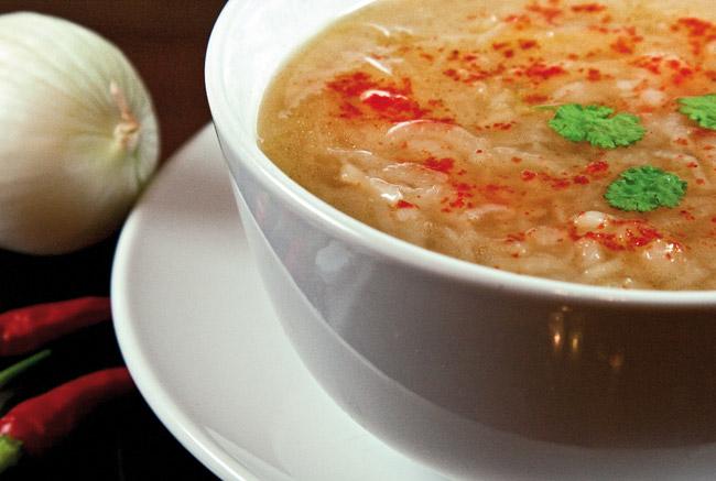 Узбекский луковый суп пиёва от www.dunduk-culinar.ru