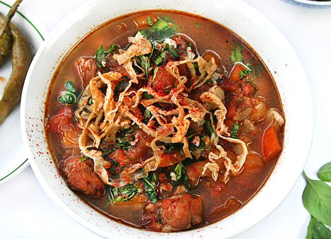 мампар - дунганский суп с клецками от www.dunduk-culinar.ru