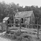 Early wooden house - Leith Valley