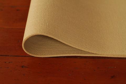 Natural jute and rubber mat
