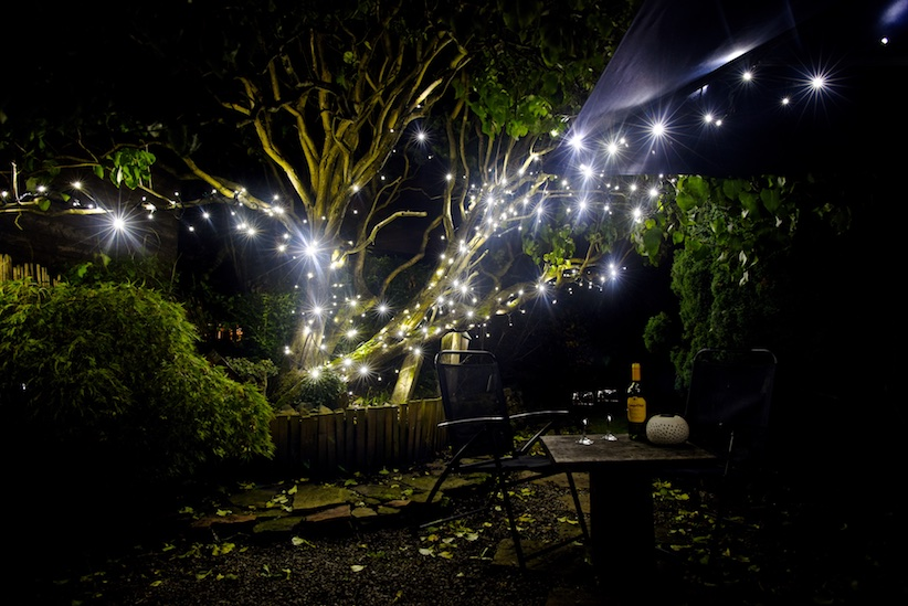 String lights for Christmas
