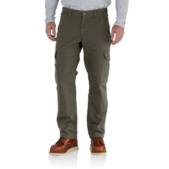 Carhartt 102287 - Flannel Lined Ripstop Relaxed Fit Cargo ...