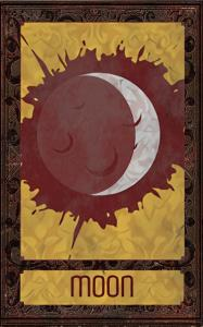 Card image for Deck of Many Things -The Moon