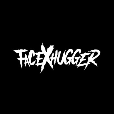 Cover art for the FacexHugger EP, featuring Mark Kosobucki's logo.