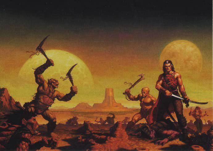 Image result for Dark Sun D&D art