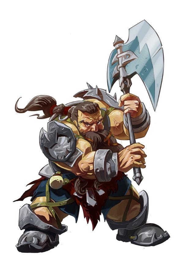 Dungeon And Dragons Dwarf Warrior