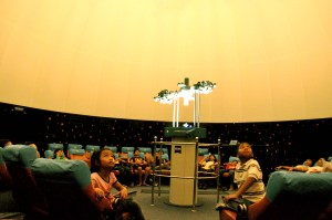 Ruang Pertunjukan (Sumber: Planetarium Tenggarong)