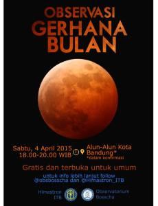Pengamatan GBT di Bandung