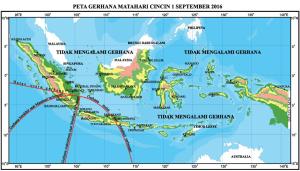 Inforgrafis GMC 1 September 2016 dari BMKG