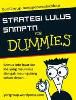 Gambar Ebook Strategi Lulus Snmptn For Dummies