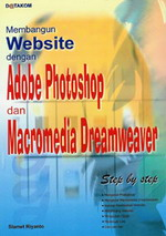 Gambar Ebook Web Professional dengan Photoshop & Dreamweaver