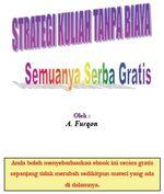 Gambar Ebook Strategi Kuliah Tanpa Biaya