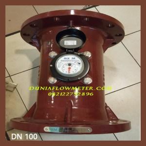 jual water meter air panas shm dn 100