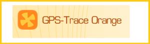 gps trace orange