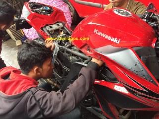 gps tracker motor ninja 250