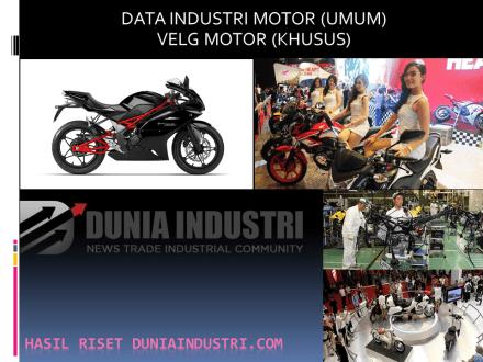 """<span itemprop=""""name"""">Data Industri Sepeda Motor dan Velg Motor di Indonesia</span>"""
