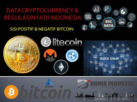 "<span itemprop=""name"">Data Cryptocurrency & Regulasinya di Indonesia (Sisi Positif & Negatif Bitcoin)</span>"