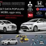 Riset Data Populasi Mobil 1950-2025 (Market Analysis Persaingan Pangsa Pasar Mobil)