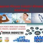 Laporan Riset Data Industri Minuman Kesehatan (Tren Pertumbuhan dan Profil Market Leader)