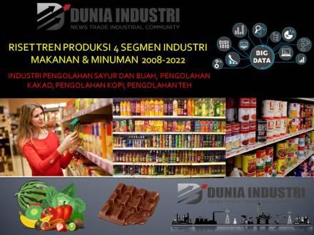 """<span itemprop=""""name"""">Riset Tren Produksi 4 Segmen Industri Makanan Minuman 2008-2022 (Data Tenaga Kerja dan Kesiapan Adopsi Revolusi Industri 4.0)</span>"""