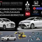 Database Direktori 845 Perusahaan Kendaraan Bermotor di Indonesia