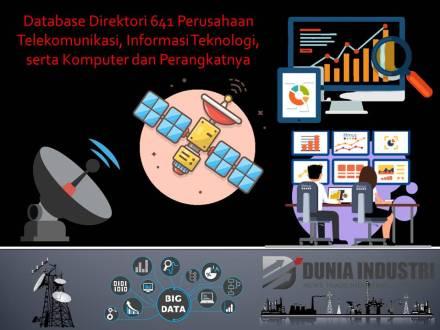 """<span itemprop=""""name"""">Database Direktori 641 Perusahaan Telekomunikasi, Informasi Teknologi, serta Komputer dan Peralatannya</span>"""