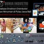 Database Direktori Distributor Makanan Minuman di Pulau Jawa-Bali (Market Outlook Consumer Goods 2013-2024)
