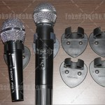 Breaket / Holder Microphone Dinding Plastik